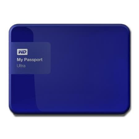 WD 威騰 My Passport Ultra 1TB 2.5吋行動硬碟 - 貴族藍