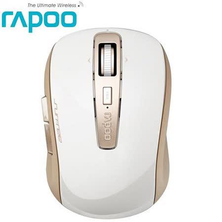 Rapoo雷柏3920P 5.8G無線雷射滑鼠-香檳金