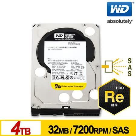 WD 威騰 企業級Re 4TB 3.5吋SAS硬碟 (WD4001FYYG)
