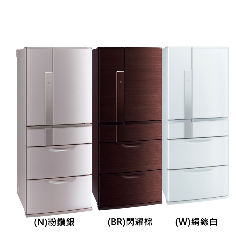 ~Mitsubishi三菱~635L 變頻六門電冰箱MR~JX64W