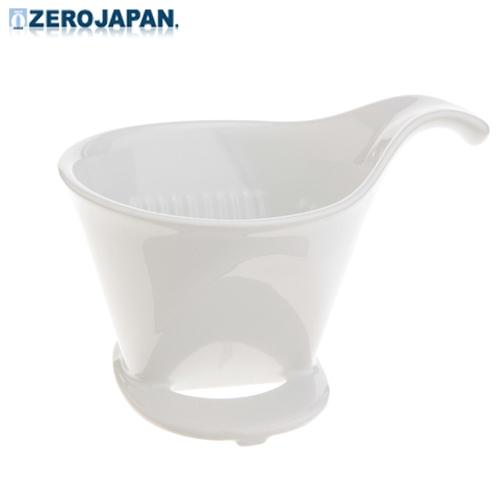 ~ZERO JAPAN~典藏陶瓷咖啡漏斗 大  白