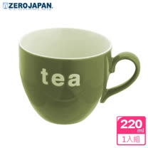 【ZERO JAPAN】Tea英文馬克杯(檸檬綠) 220cc