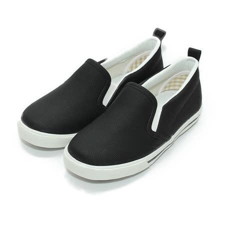 (中小童) GIOVANNI VALENTINO 套式休閒鞋 黑 鞋全家福