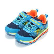 (中小童) GOODYEAR 黏帶運動鞋 藍 鞋全家福