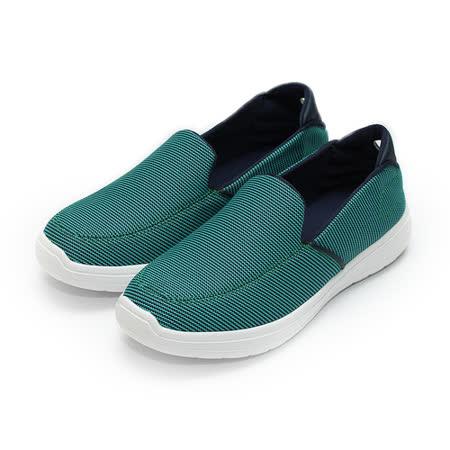 (男) RED ANT 輕量套式懶人萊特鞋 藍 鞋全家福