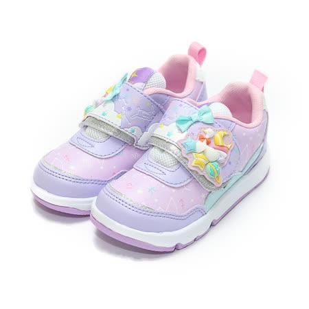 (童) MOONSTAR CARROT夢幻童話運動鞋 紫 鞋全家福