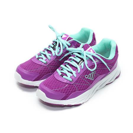 (女) JUMP 輕量運動鞋 紫 鞋全家福
