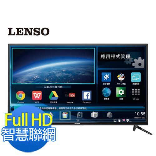 LENSO 43型智慧聯網FHD LED液晶顯示器 視訊盒 43LS~I6A