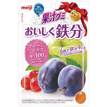 明治膠原QQ軟糖-加州梅綜合果汁76g