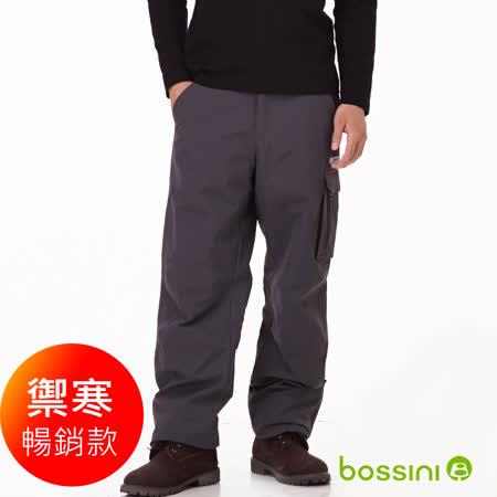 bossini男裝-多功能防風雪褲-1灰