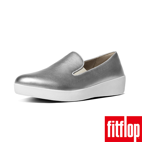 FitFlop™-(女款)SUPERSKATE™-銀色