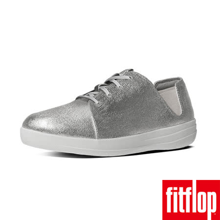 FitFlop™-(女款)F-SPORTY™ LACEUP SNEAKER CANVAS-銀色