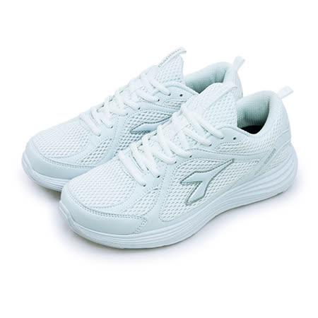 【男】DIADORA 輕量慢跑鞋 EASY RUN II 系列 白色學生鞋 白 2659