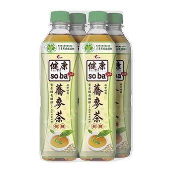 健康SOBA健康蕎麥茶580ml*4瓶