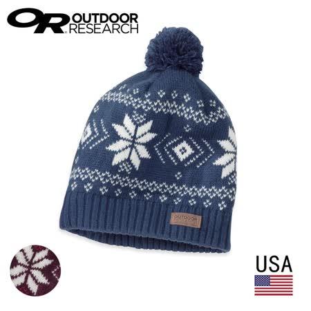 美國 Outdoor Research  OR243680 雪花保暖帽 透氣保暖護耳帽 / 城市綠洲 (透氣.保暖)