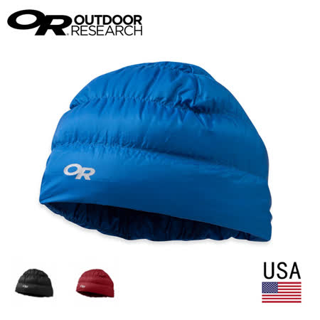 美國 Outdoor Research  OR243485 輕量透氣保暖羽絨帽 帽子 OR / 城市綠洲 (透氣.保暖)