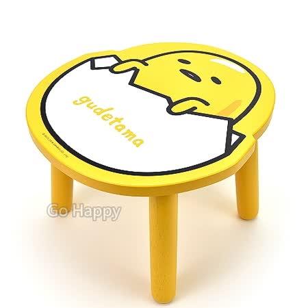 SANRIO【Hello 蛋黃哥】木製造型板凳