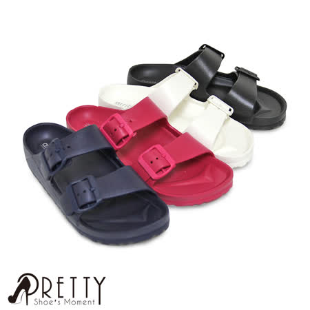 【Pretty】情侶款/超輕量舒適防水女款拖鞋