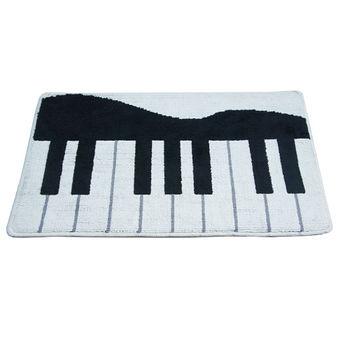 貝多芬鋼琴踏墊-白 ( 45x75cm )