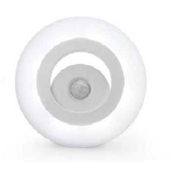 360度全方位人體感應LED照明燈 人體感應+光感控制感應燈