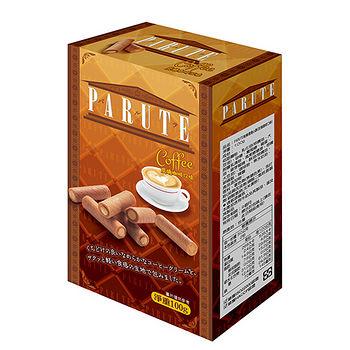帕樂德炭燒咖啡口味捲心酥100g