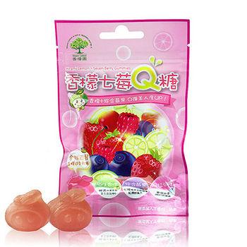 香檬園香檬七梅Q糖42g
