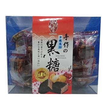 御珍嚐沖繩角切桂圓紅棗黑糖200g