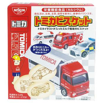 日清TOMICA汽車餅乾55g