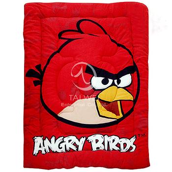 ANGRY BIRDS憤怒鳥【射擊遊戲系列-紅鳥】 暖暖厚毯被