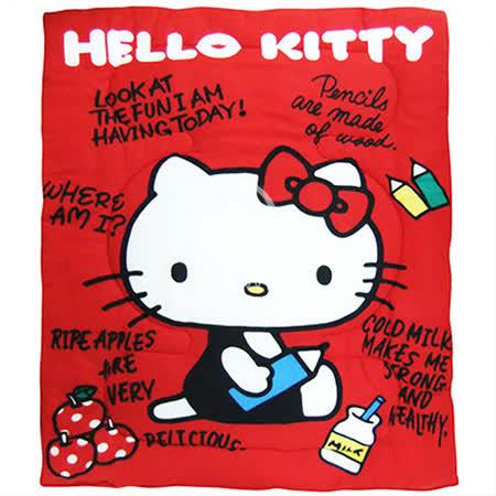 Hello Kitty【我的筆記本】 暖暖厚毯被