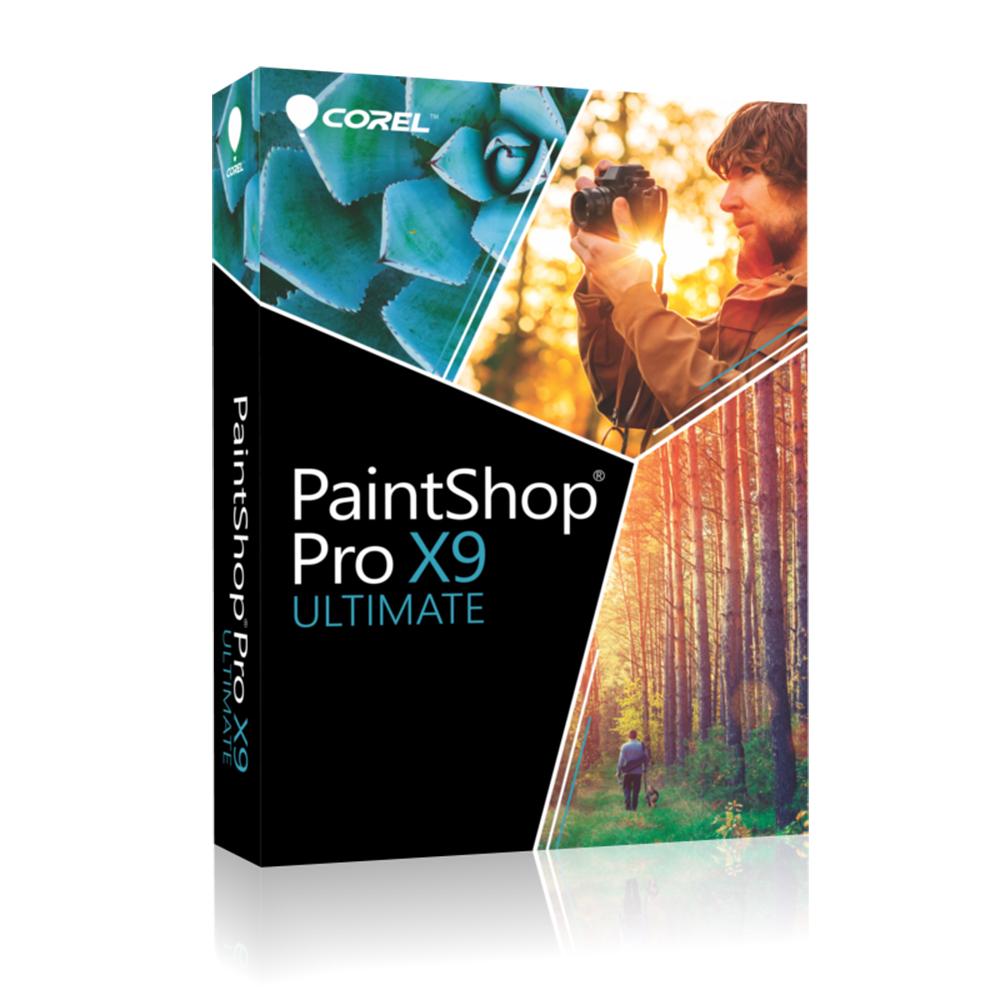 Corel PaintShop Pro X9 旗艦版 相片編輯系列軟體