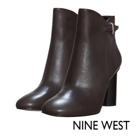 【私心大推】gohappy快樂購物網NINE WEST--時尚冬日率性粗跟短靴--雅致灰好嗎板 新 愛 買