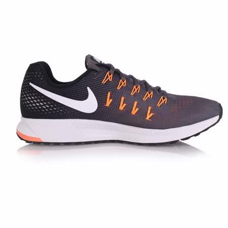 (男) NIKE AIR ZOOM PEGASUS 33 慢跑鞋- 路跑 夜跑 鐵灰橘