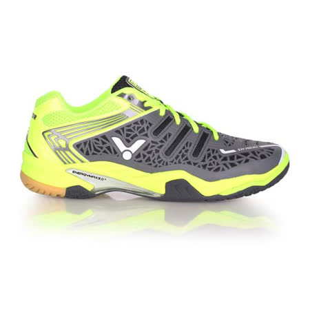 (男) VICTOR SH-A830 專業羽球鞋 - 羽毛球 勝利 螢光綠灰