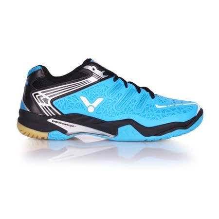 (男) VICTOR SH-A830 專業羽球鞋 - 羽毛球 勝利 水藍黑