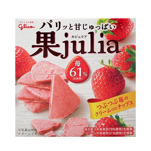 固力果JULIA草莓巧克力果子42g