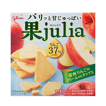 固力果JULIA蘋果巧克力果子42g