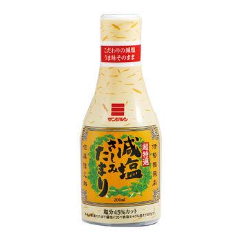 減鹽生魚片醃漬醬油200ml