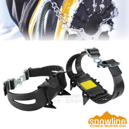 【韓國 SNOWLINE】最新款 OT可調快拆式簡易雪鞋冰爪-2入組(可耐零下40℃) _黑 SN24UEI001