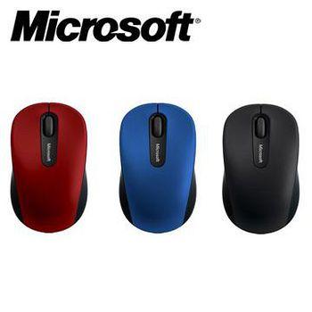 Microsoft 微軟 3600 藍芽行動滑鼠 紅色 / 藍色 / 黑色