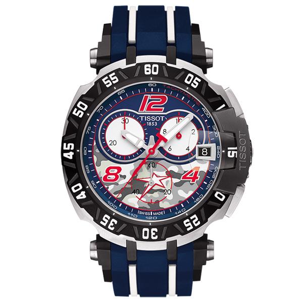 TISSOT 天梭 T~Race Nicky Hayden 賽車計時腕錶 T0924172