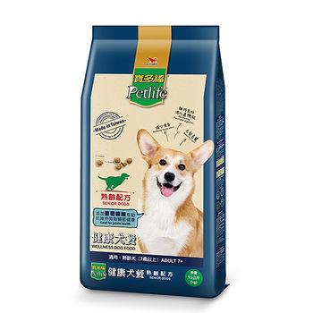 寶多福健康犬餐熟齡犬15kg