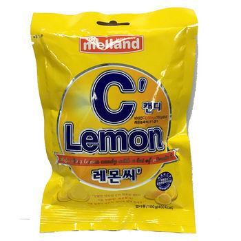 韓國蜜爾樂檸檬VC糖100g