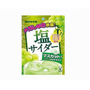 味覺糖鹽味汽水糖(白葡萄味)63g