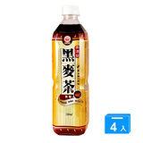 崇德發黑麥茶580ml*4罐