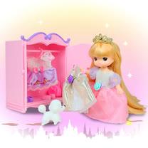 【MIMI WORLD】迷你MIMI長髮公主衣櫥組 MI14553
