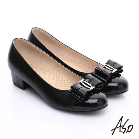 【私心大推】gohappy【A.S.O】3E舒活寬楦 全真皮拼接動物紋奈米低跟鞋(黑)開箱台中 愛 買 量販 店
