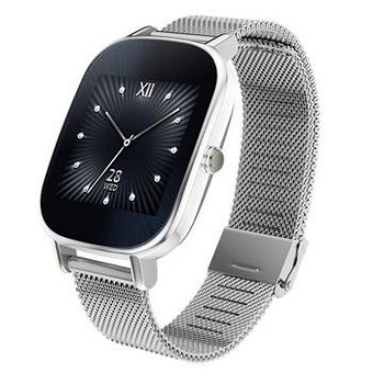 ASUS 華碩 ZenWatch2 智慧錶 (優雅銀鍊) -小錶