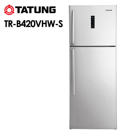 TATUNG大同 420L變頻雙門冰箱TR-B420VH-S 送安裝