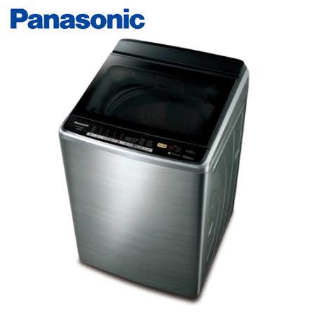 Panasonic 14公斤ECO NAVI不銹鋼變頻洗衣機 NA-V158DBS